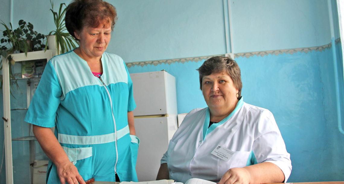Н.Б. Гизатуллина, фельдшер из с. Ункурда Нязепетровского района