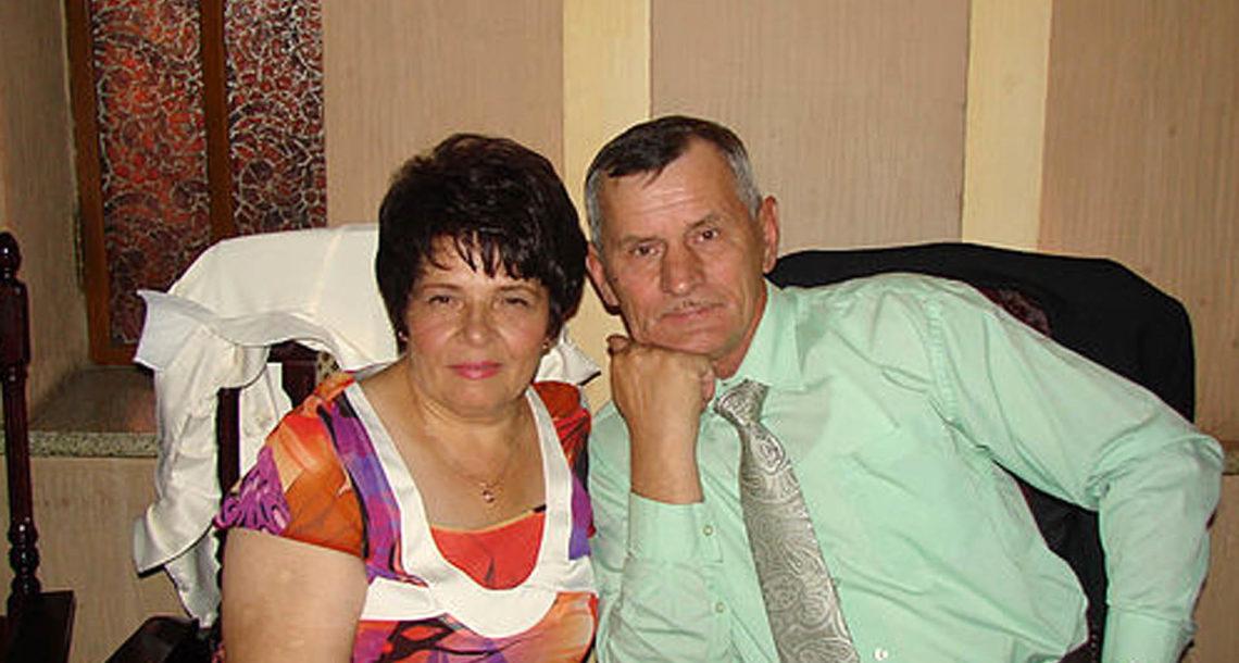 Г.М. Стругов с супругой
