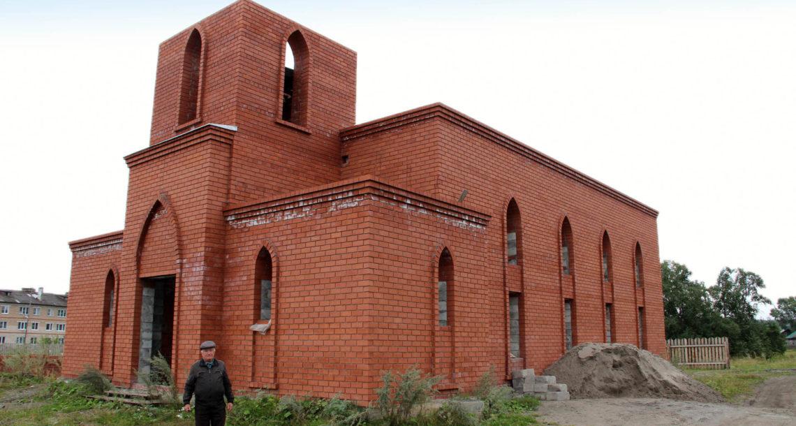 Строительство мечети в Нязепетровске