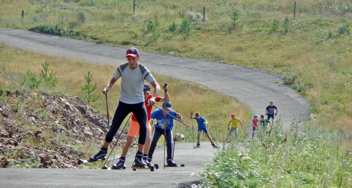 Тренировка спортсменов в Нязепетровске