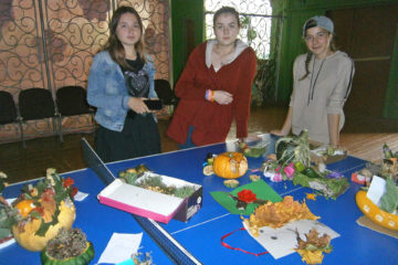 Осенний праздник в д.Ситцева Нязепетровского района