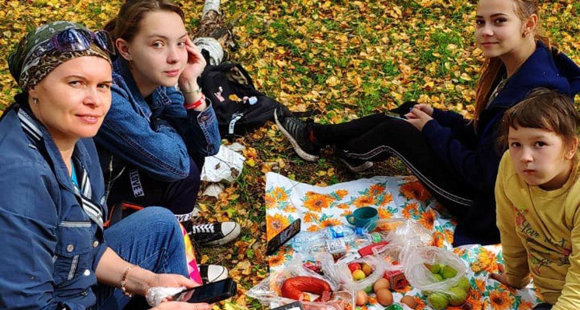 Праздник и субботник в д. Ташкинова