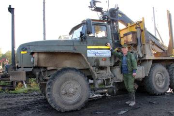 А.Ю. Бекетов, водитель из Нязепетровска