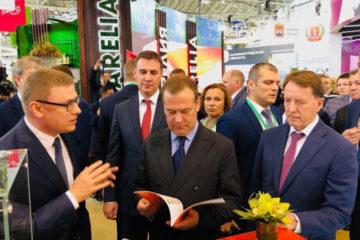 А. Текслер и Д. Медведев