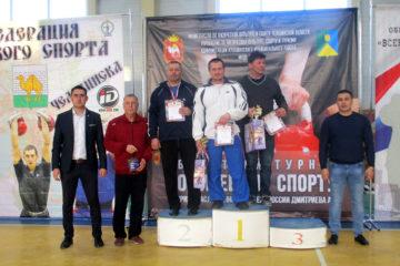 Гиревики из Нязепетровска на соревнованиях