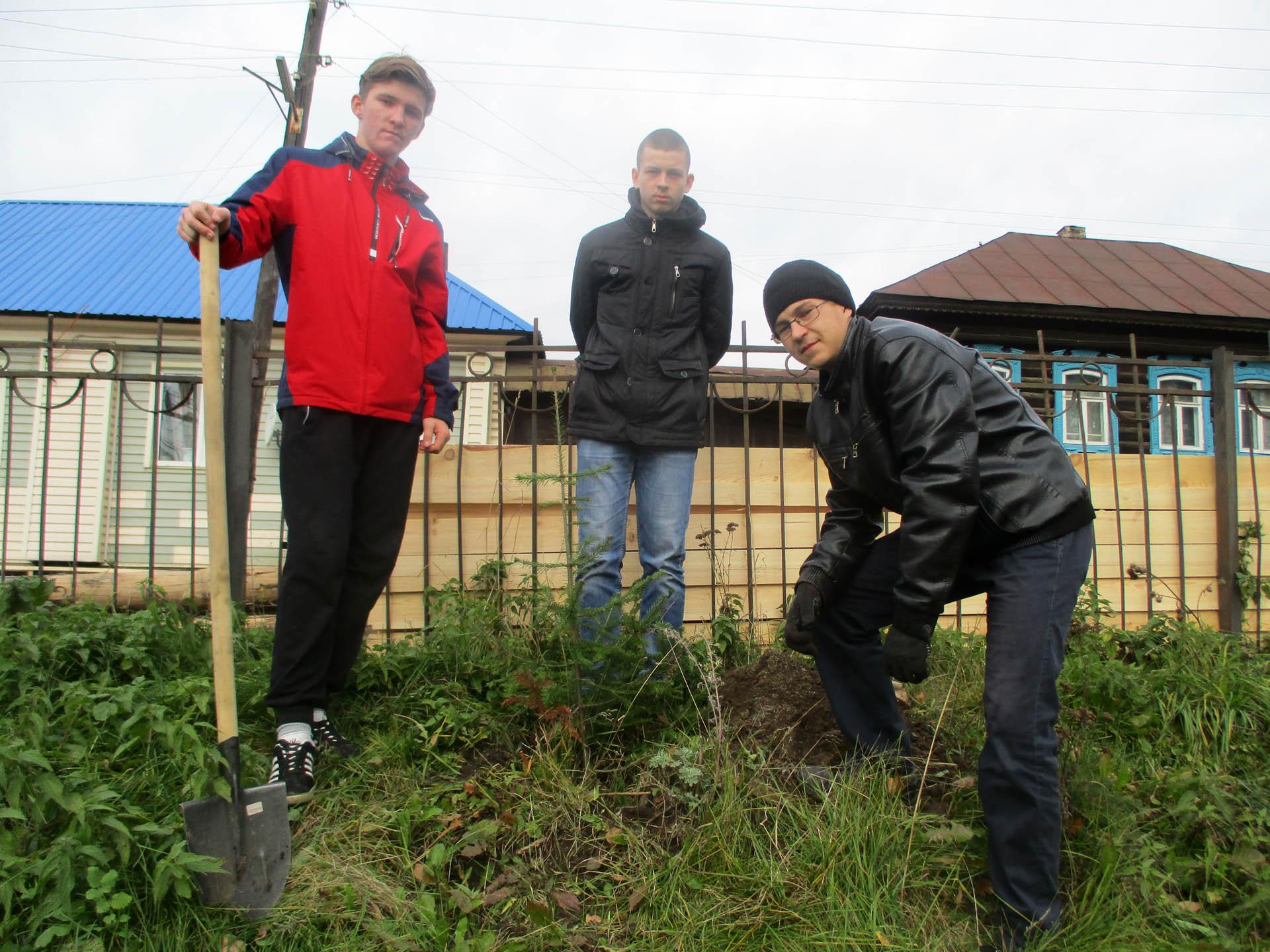 Сад Победы в Нязепетровске