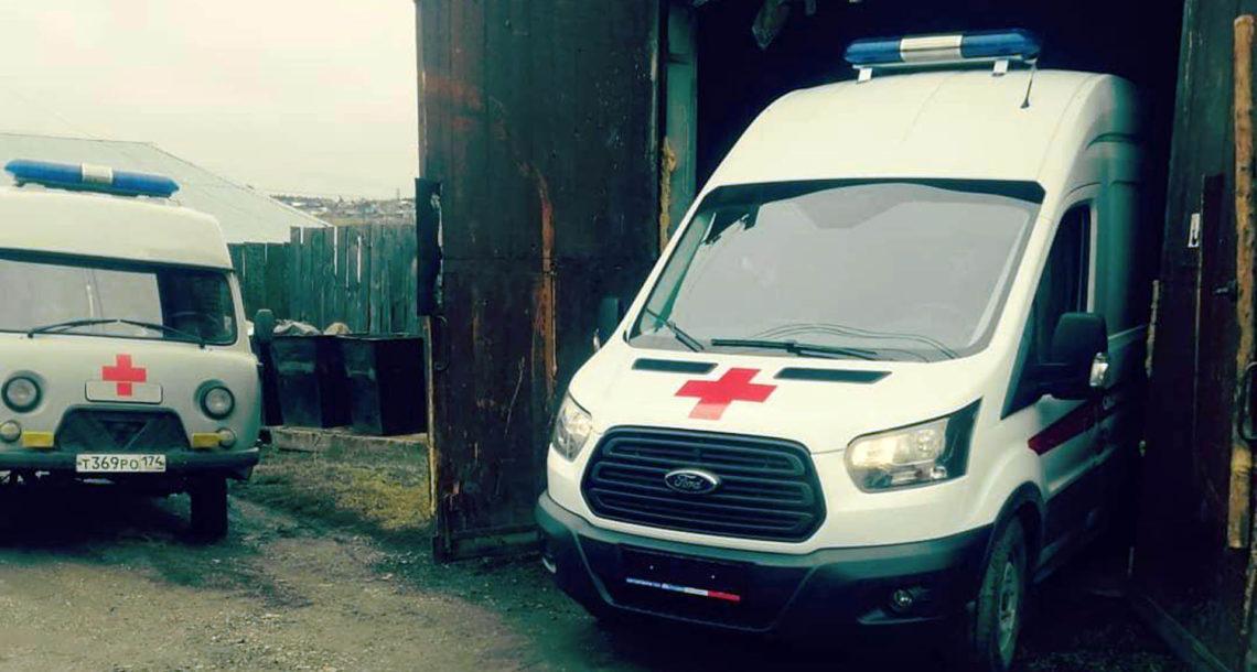 В нязепетровской «Скорой помощи» появился новый «Форд».