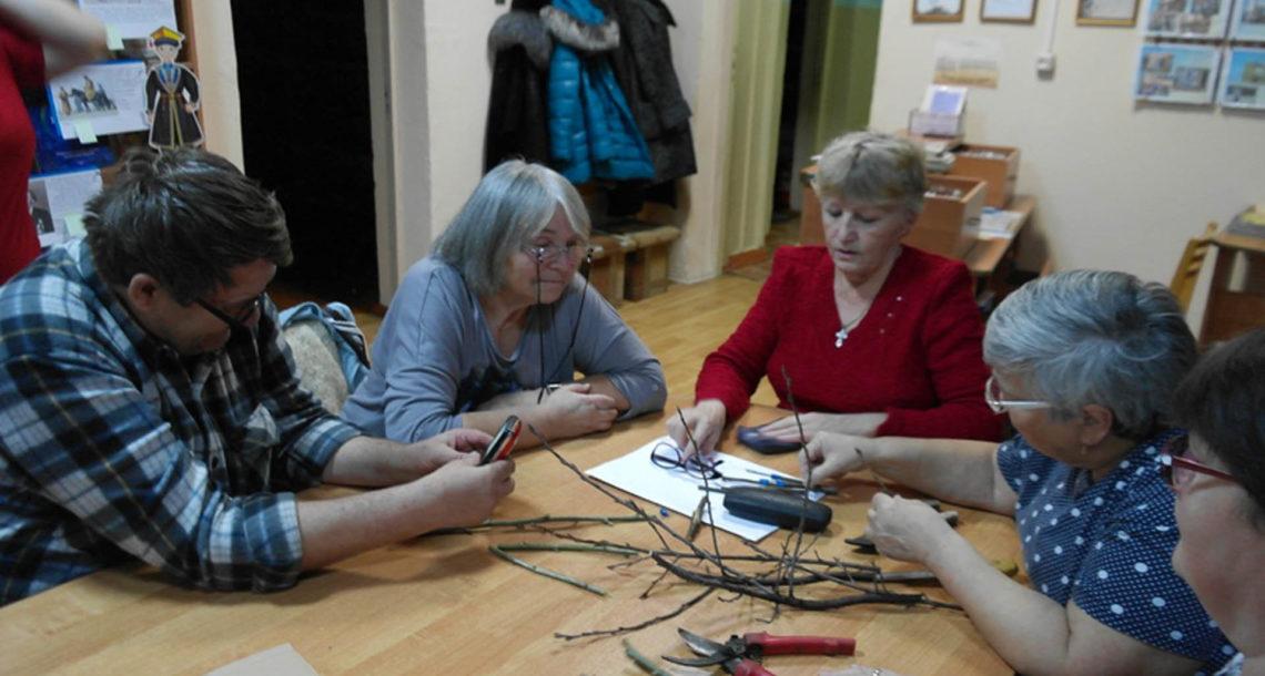 Заседание клуба садоводов-любителей в Нязепетровске
