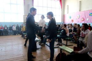 Мастер-класс для учащихся СОШ №27 г. Нязепетровска