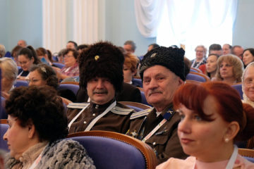 Г.М. Стругов на Съезде народов Южного Урала