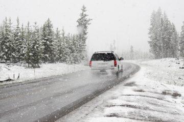На Южный Урал идет снегопад