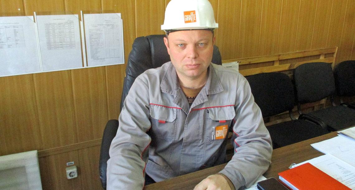 М.П. Карпов, начальник цеха ООО «ЛМЗ» в Нязепетровске