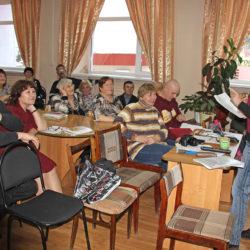 Творческий вечер «Ковчега» в центральной библиотеке Нязепетровска