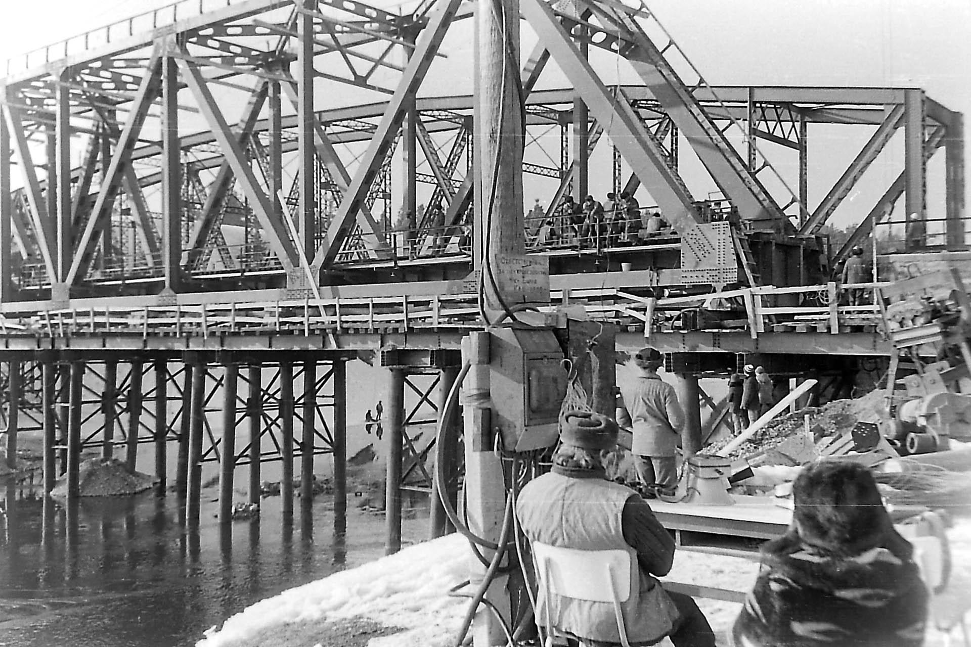 Ремонт моста через Уфу в Нязепетровске