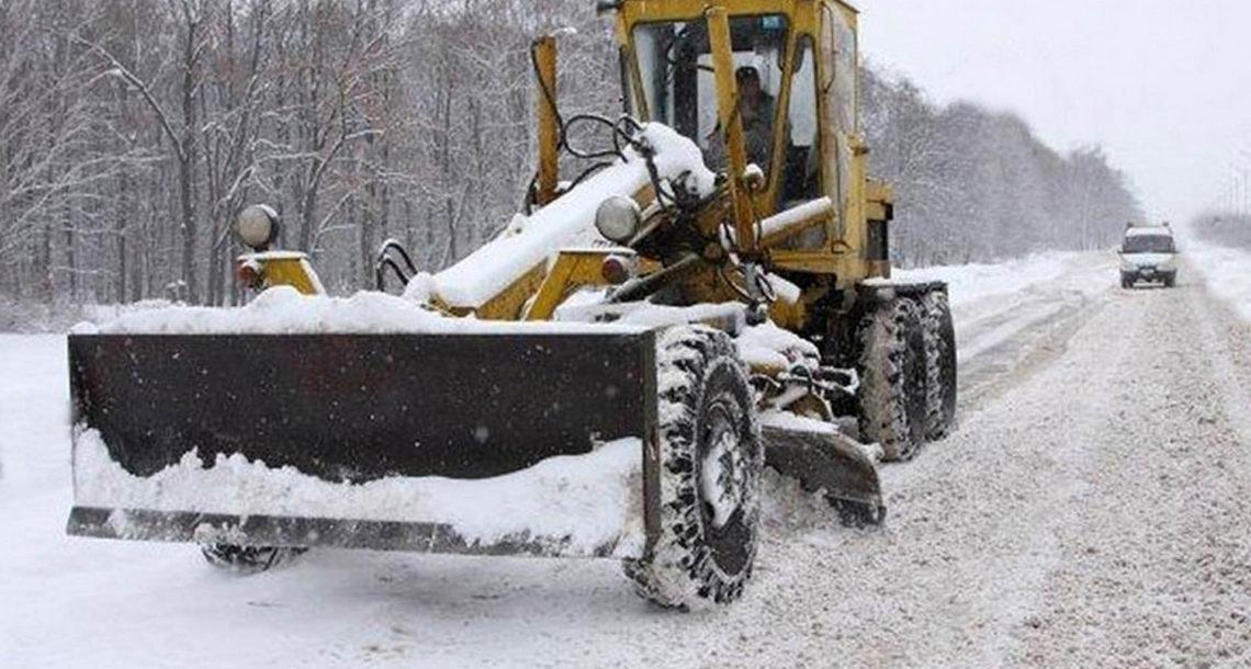 Снегоуборочную технику оборудуют глонасс