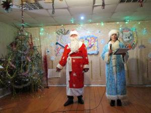 Новогодний праздник в с. Ункурда