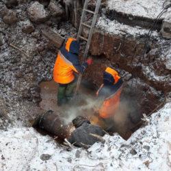 Ремонт водопровода в Нязепетровске