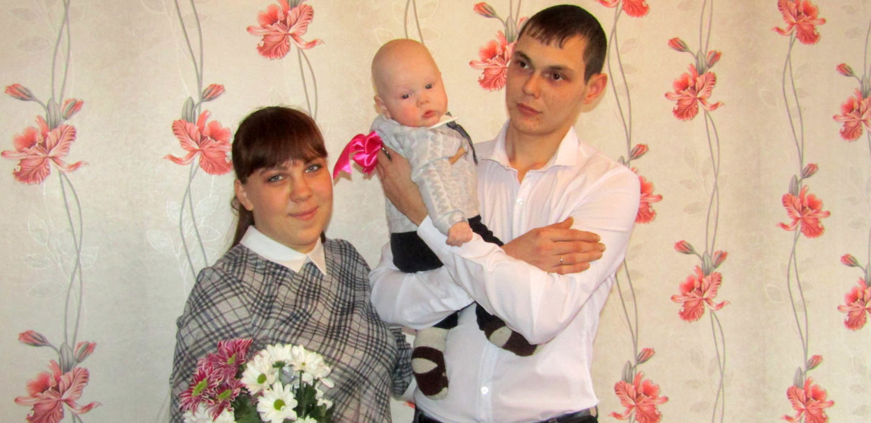 Семья Алексеевых в новой квартире в Нязепетровске