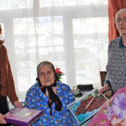 Е.И. Бычкова, ветеран Великой Отечественной войны
