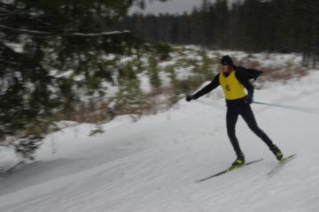 Бэтмен выиграл лыжную гонку в Челябинской области
