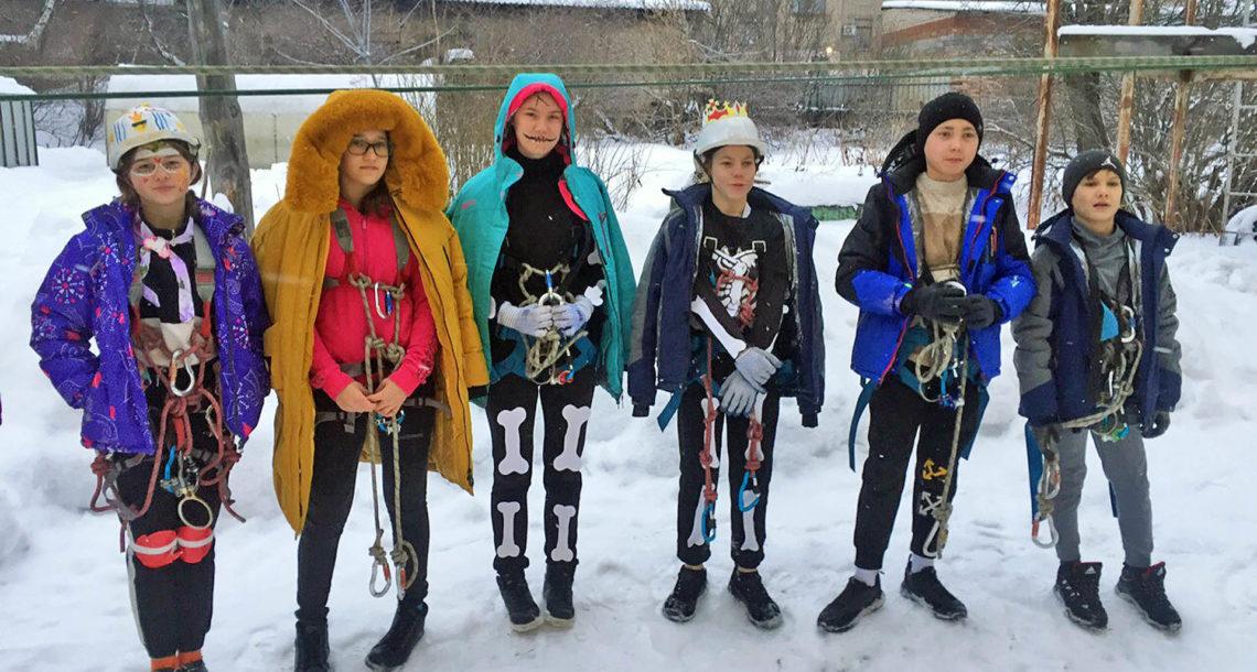 Туристы на соревнованиях в Нязепетровске
