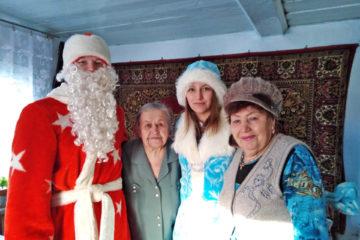 Новый год в с. Ункурда Нязепетровского района