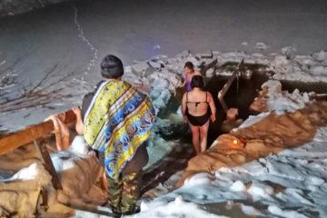 Праздник Крещения в Нязепетровском районе
