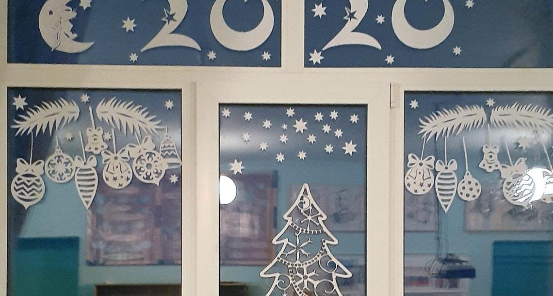 Сказочные окна Ункурдинской СОШ