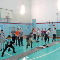 Соревнования по гиревому спорту в Нязепетровске