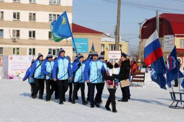 Спортсмены из Нязепетровска на «Уральской метелице»