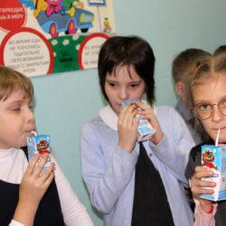 Нязепетровским школьникам молоко понравилось