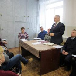Заседание совета ветеранов