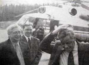 П.И Сумин в Нязепетровском районе