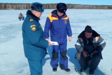 Лед водоемов Нязепетровского района весной особенно опасен