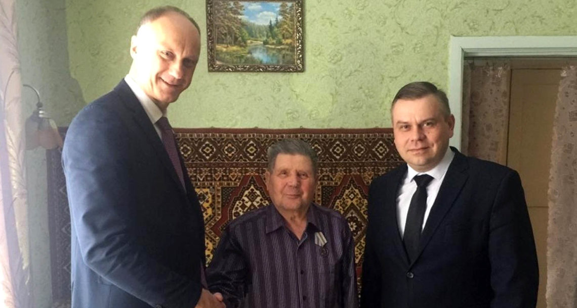 В Нязепетровском районе вручили медали к юбилею Победы