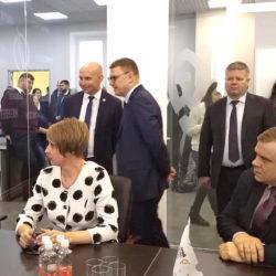 Делегация Нязепетровского района на открытии Территории бизнеса в Кыштыме