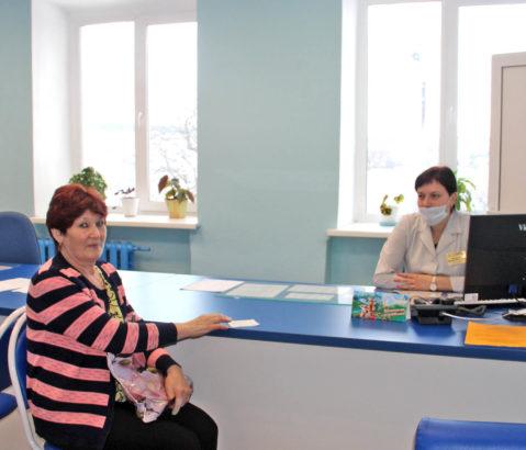 Новая регистратура в поликлинике