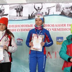 А. Долгова, воспитанница спортшколы Нязепетровска