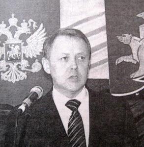 В.Г. Селиванов вступает в должность главы района