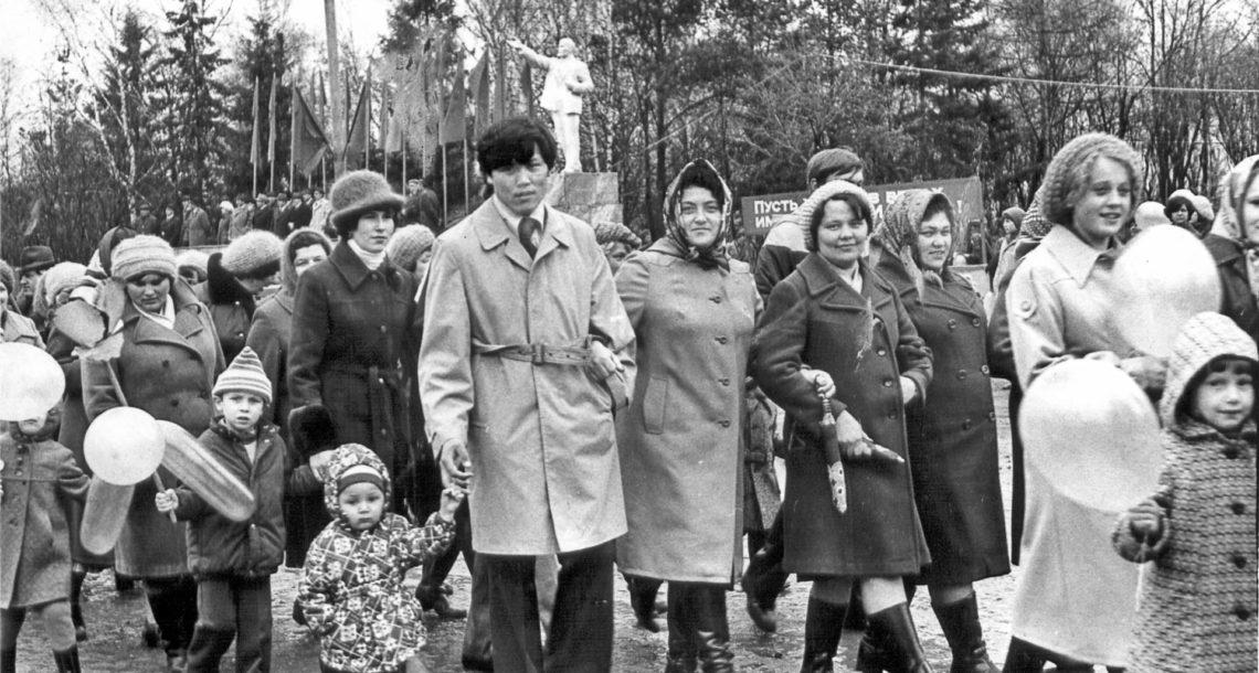 Нязепетровцы старшего поколения вспомнили Первомай молодости