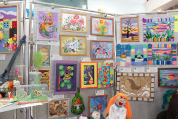 Выставка детских работ в Нязепетровске