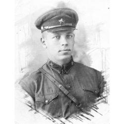 И.И. Костин из Нязепетровского района в армии