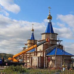 Строительство Свято-Троицкого храма в Шемахе