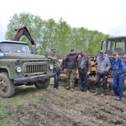 Работники СПК «Такиново» из Нязепетровского района
