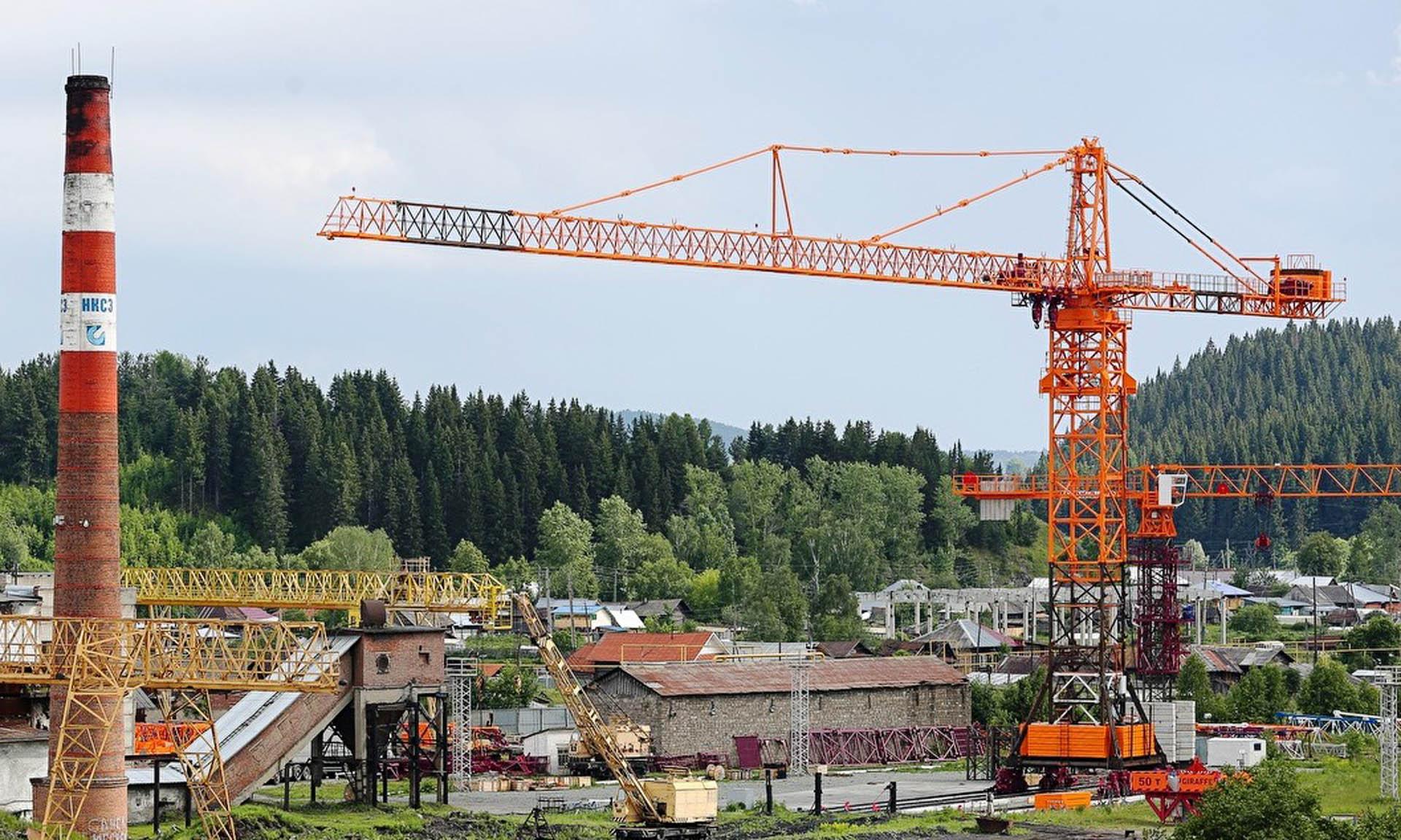 Башенный кран 40-тонник