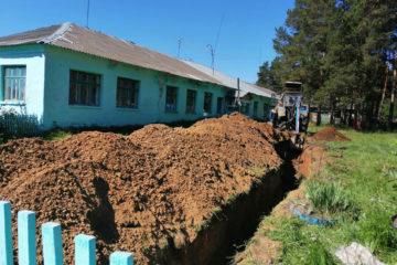 Ремонт водопровода в Гривенском поселении Нязепетровского района