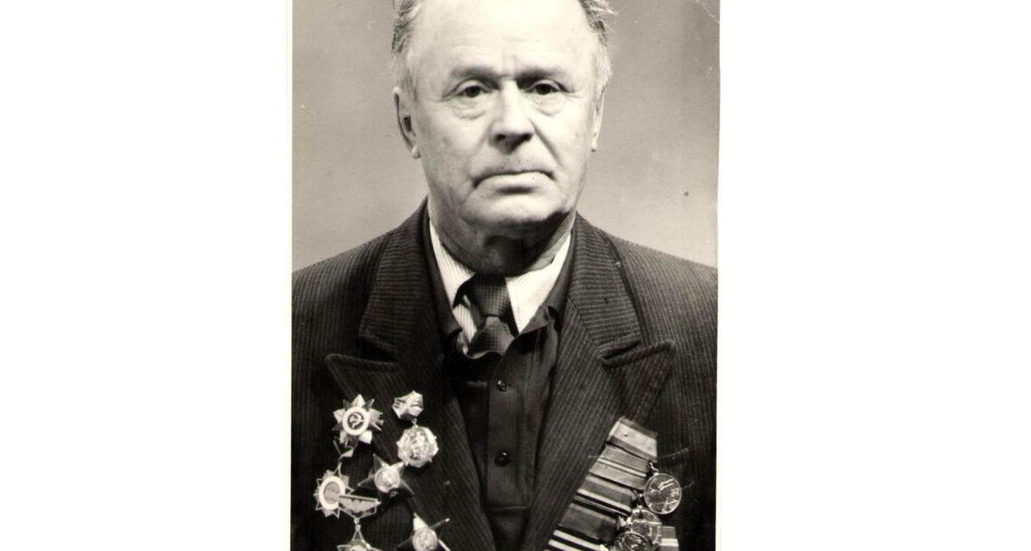 Н.А. Борисов, фронтовик из Нязепетровска