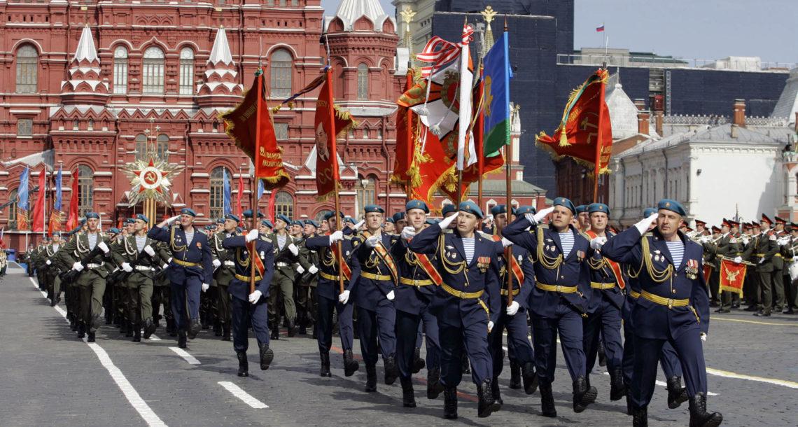 А. Пашов из Нязепетровска стал участников парада Победы