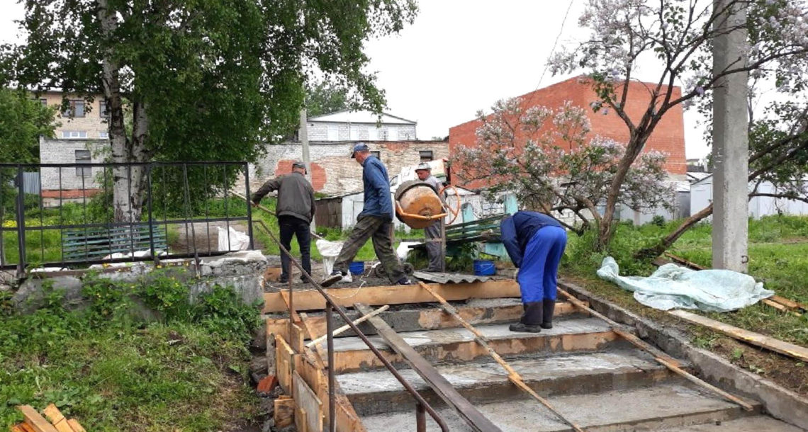 Ремонт многоквартирного дома в Нязепетровске