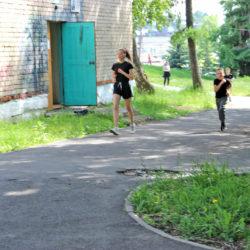 Спортсмены на тренировке в Нязепетровске